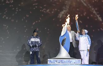 Эстафета Паралимпийского огня в Москве
