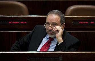 Министр иностранных дел Израиля Авигдо Либерман