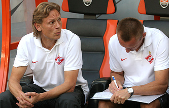 Валерий Карпин и Андрей Тихонов