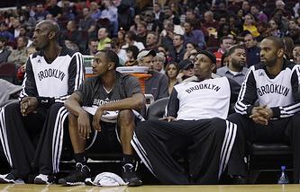 """Баскетболисты """"Бруклина"""""""