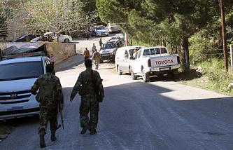 Сирийские войска на севере Латакии