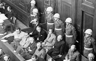 Нюрнбергский процесс, 1945 год