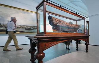 Экспозиция музея после переезда. 2013 год.