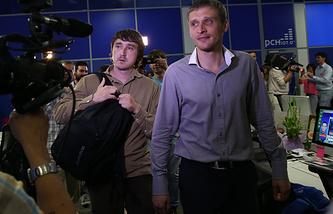 Мараит Сайченко и Олег Сидякин