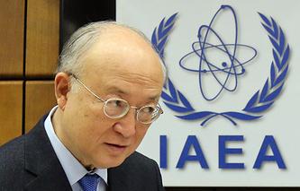 Генеральный директор Международного агентства по атомной энергии Юкия Амано