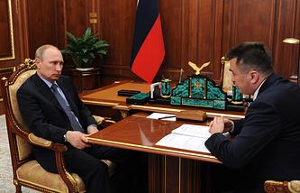 Владимир Путин и Владимир Миклушевский