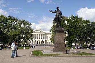 Памятник А.С. Пушкину в Санкт-Петербурге