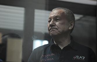 Виктор Контеев в зале Курганского областного суда