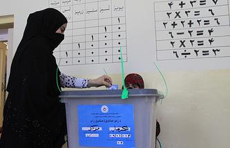 Второй тур президентских выборов в Афганистане