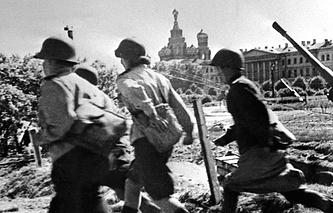 Великая Отечественная война. Блокада Ленинграда