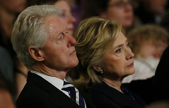 Билл Клинтон и Хилари Клинтон