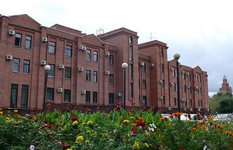 Здание арбитражного суда Омской области