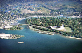 Проект стадиона в Самаре