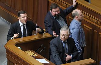 Олег Ляшко и Петр Симоненко