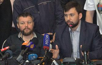 Андрей Пургин и Денис Пушилин