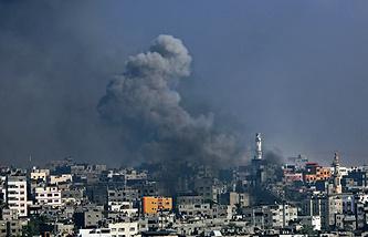 В секторе Газа