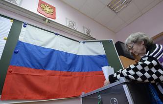 На одном из избирательных участков