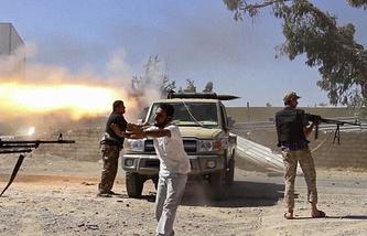 Ситуация в Триполи, 2014 год