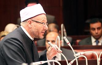 Верховный муфтий Египта Шауки Ибрагим Абдель Карим