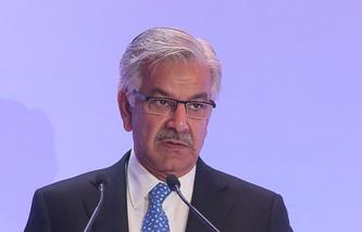 Министр обороны Пакистана Хаваджа Мухаммад Асиф