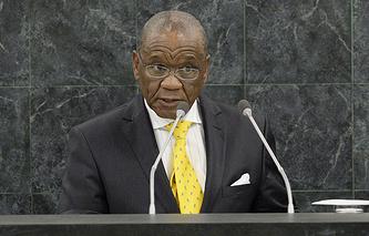 Премьер-министр Лесото Томас Мотсоахе Табане