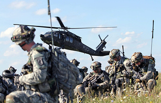 Учения войск НАТО, август 2014 год