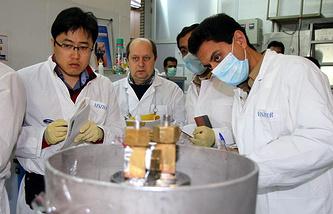 Эксперты МАГАТЭ в Иране, январь 2014 года