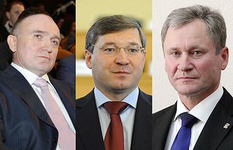 Борис Дуровский, Владимир Якушев, Алексей Кокорин (слева направо)