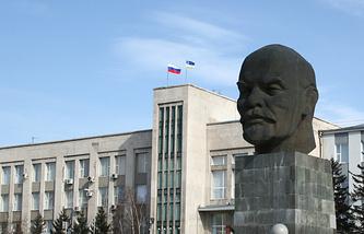 Здание мэрии Улан-Удэ. Архив