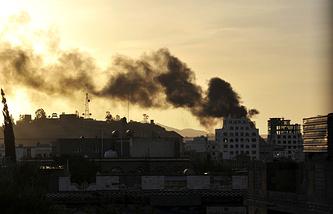 Обстановка в столице Йемена