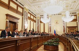 Заседание правительства РФ 18 сентября 2014 года