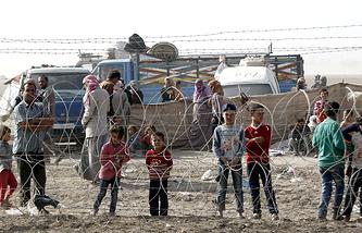 Ситуация на турецко-сирийской границе