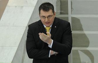"""Главный тренер """"Барыса"""" Андрей Назаров"""