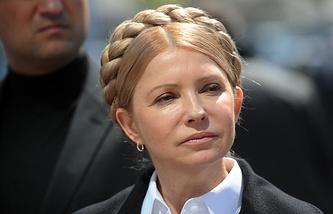 Кандидат в депутаты Верховной рады Юлия Тимошенко