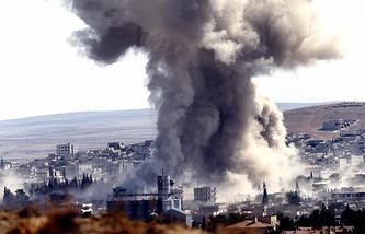 Сирийский город Кобани