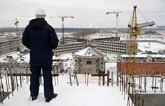 """Строительство следственного изолятора """"Кресты-2"""", 2012 год"""