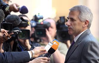Глава представительства ЕС в Москве Вигаудас Ушацкас