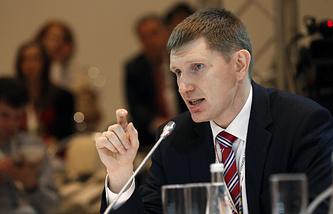 Руководитель департамента экономической политики и развития Москвы Максим Решетников