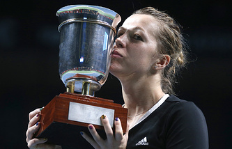 Победительница Кубка Кремля-2014 Анастасия Павлюченкова