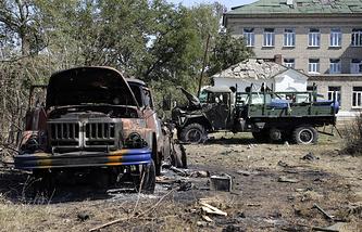 Последствия вооруженных столкновений украинской армии и ополченцев ДНР в Иловайске, сентябрь 2014 года