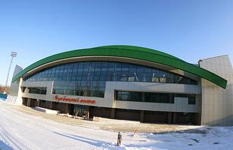 Футбольный манеж в Екатеринбурге