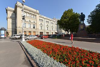 Здание Санкт-Петербургской государственной консерватории им. Н.А.Римского-Корсакова