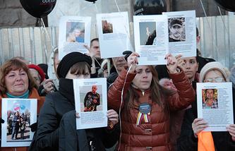 Акция памяти о в Доме профсоюзов в Одессе