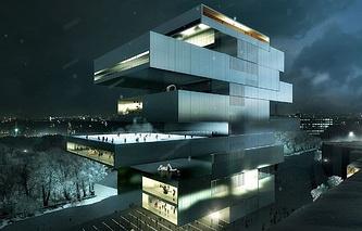 Проект нового здания ГЦСИ