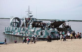 """Десантный корабль на воздушной подушке """"Мурена-Э"""""""