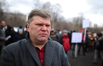 """Председатель партии """"Яблоко"""" Сергей Митрохин"""