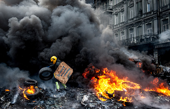 Массовые беспорядки на улице Грушевского в Киеве, 23 января 2014 года