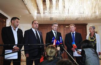 Заседание контактной группы по Украине в Минске, сентябрь 2014 года