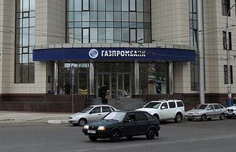"""Здание """"Газпромбанка"""""""