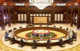 Саммит АТЭС в Пекине. Ноябрь 2014 года